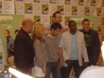 Psych Cast and Steve Franks